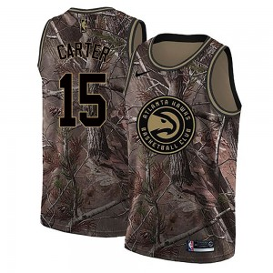 Nike Atlanta Hawks Swingman Camo Vince Carter Realtree Collection Jersey - Youth